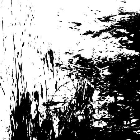 Distress urban used texture. Overlay aged grainy messy template. Grunge rough dirty background. Brushed black paint cover. Renovate wall frame grimy backdrop. Empty aging design element. EPS10 vector.