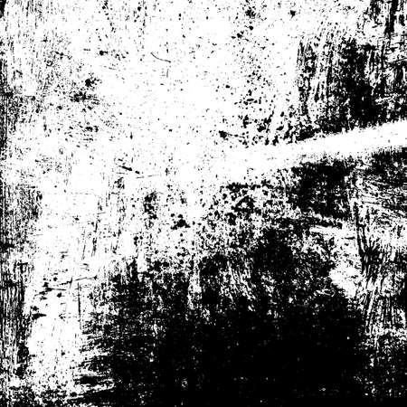 Distress urban used texture. Grunge rough dirty background. Brushed black paint cover. Overlay aged grainy messy template. Renovate wall scratched backdrop. Empty aging design element. EPS10 vector