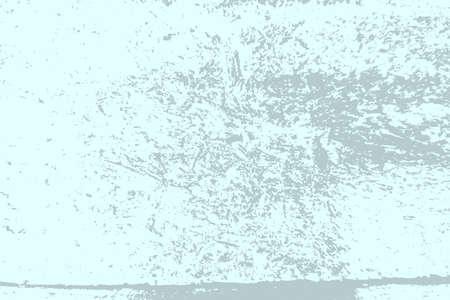 Gebürstete blaue Farbabdeckung. Leeres alterndes Gestaltungselement. Grober schmutziger Hintergrund des Schmutzes. Überlagern Sie gealterte körnige, unordentliche Vorlage. Distress urbane gebrauchte Textur. Renovieren Sie den schmutzigen Hintergrund des Wandrahmens. EPS10-Vektor