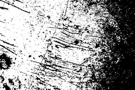 Distress urban used texture. Grunge rough dirty background. Brushed black paint cover. Overlay aged grainy messy template. Renovate wall scratched backdrop. Empty aging design element.