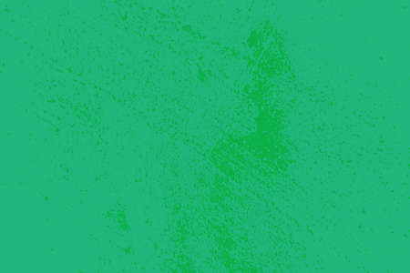 Distress green background. Grunge dirty texture. Damaged painted color painted wall. Creative peeled design template.