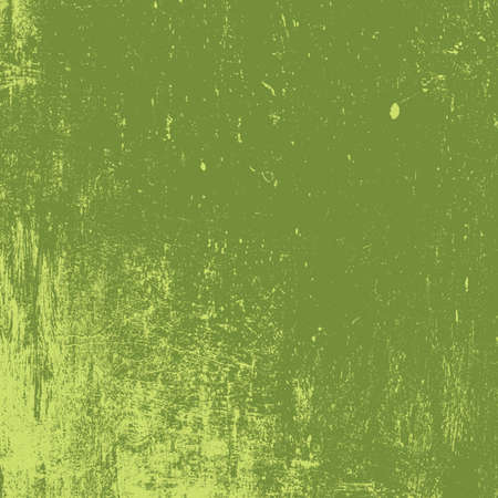 Distressed Color Green Texture. Empty grunge background for making aged your design. EPS10 vector.