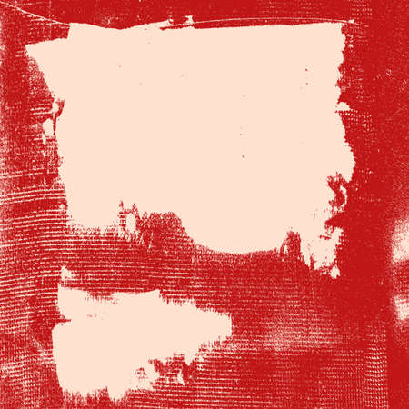 Distress Color Red Blot Grunge Texture For Your Design. EPS10 vector.