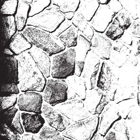 Distress Stone Wall Overlay Texture For Your Design.