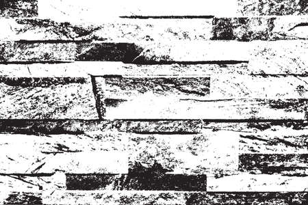 Distress brick wall masonry overlay texture. Grunge urban dirty background. Aging stone template cover.   vector.