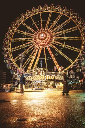 Ferris Wheel at the midnight fair