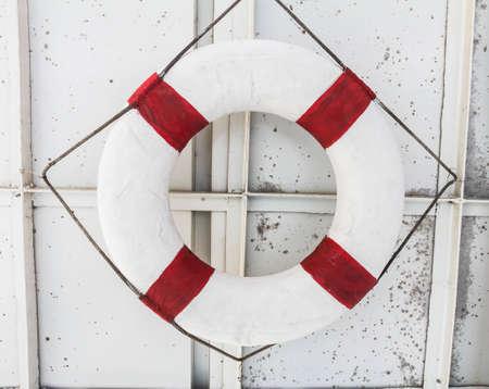 buoy: the Ring buoy Stock Photo