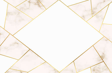 Luxury background, Abstract marble decoration, golden pattern. Luxury White Gold Marble texture background vector. Panoramic Marbling texture design