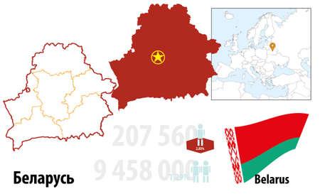 Belarus Illustration