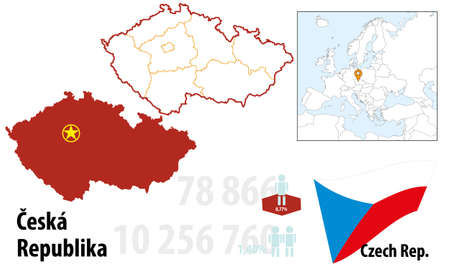 Czech Stock Vector - 16765418