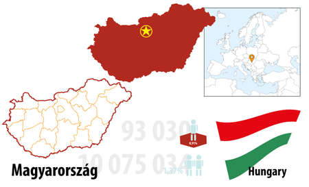 Hungary Stock Vector - 16765401