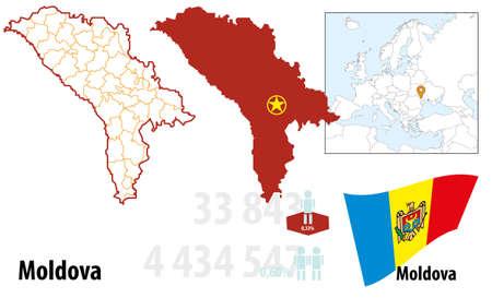 Moldova Illustration