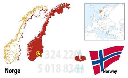 Norway Stock Vector - 16765428
