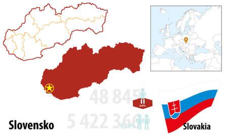 Slovakia Stock Vector - 16765397
