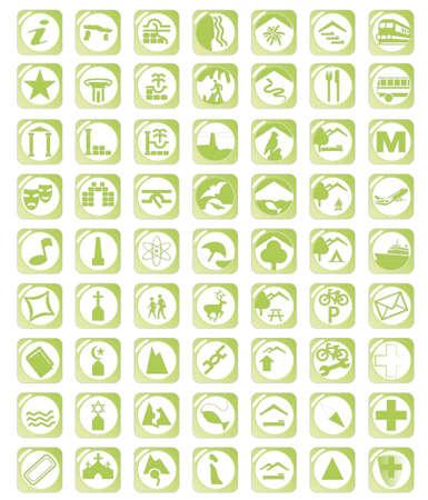 Karte gr�nes Symbol gesetzt