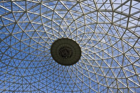 Dome of Botanic Gardens in Milwaukee