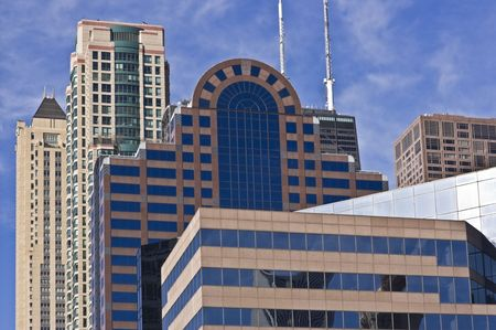 Chicago - mozaique of downtown buildings Stock Photo - 3872042