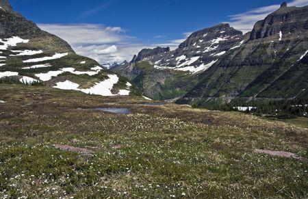 glacier national park: Beatiful Glacier National Park - Montana. Stock Photo