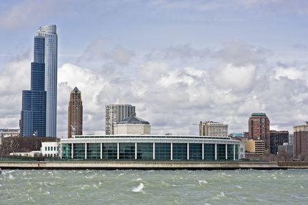 merchandise: Buildings od South Loop in Chicago