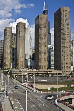 Presidential Towers in Chicago photo