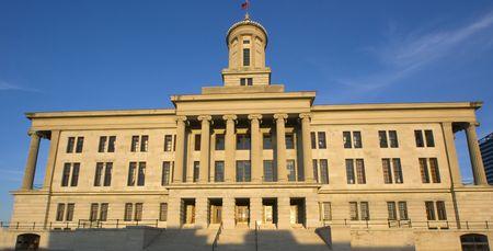 tennesse: Nashville, Tennessee - Edificio del Capitolio Foto de archivo
