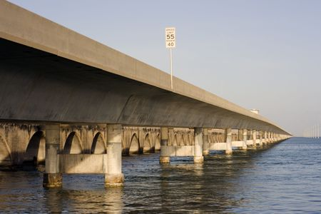 mile: Seven Mile Bridge - Florida Keys.