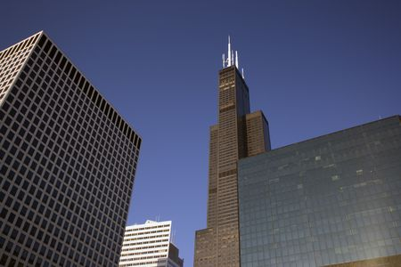 magnificent mile: Chicago downtown one more time.