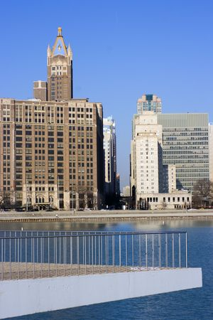 lake shore drive: Buildings by Lake Shore Drive in Chicago, Il.