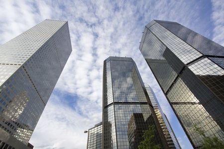 Skyscrapers in Denver, Colorado. Stock Photo - 4073922