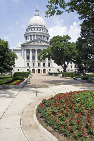 State Capitol of Wisconsin in Madison. Stock Photo - 4073840