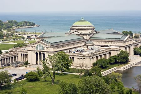 Museum of Science and Industry in Chicago, IL. Stock Photo - 4073869
