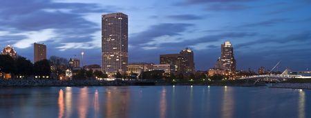 xxxl: Evening Panorama of Milwaukee - XXXL