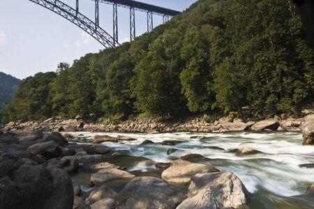west virginia: New River Gorge Bridge in West Virginia.