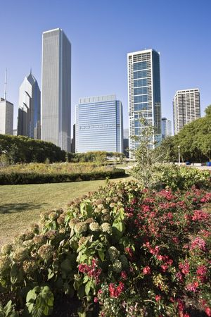 cna: Los edificios del norte de Chicago de Millennium Park