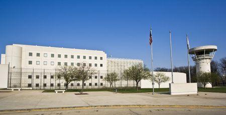 建物のシカゴ、イリノイ州刑務所。