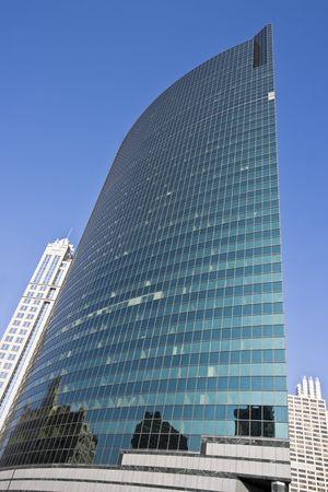 magnificent mile: Reflections in the skyscraper - Chicago, IL.