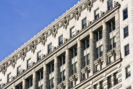 the sears tower: Old architecture - South Michigan Avenue in Chicago