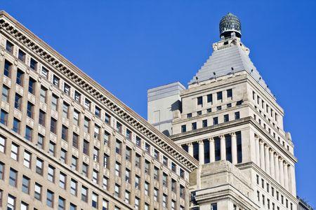 Old architecture - South Michigan Avenue in Chicago Stock Photo - 4073238