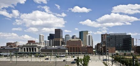 Skyscrapers in Denver, Colorado.