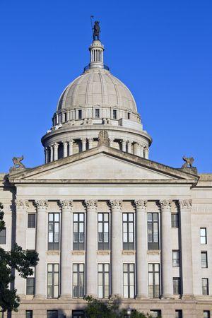 oklahoma city: State Capitol of Oklahoma in Oklahoma City.