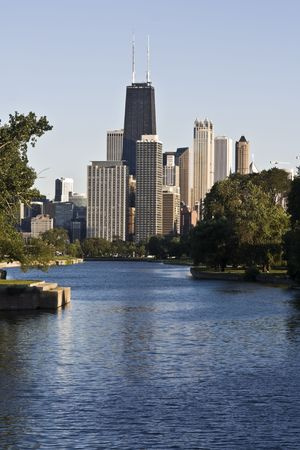 Downtown Chicago seen from north. Stock Photo - 4073327