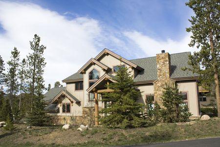 Mountain House in Colorado. photo