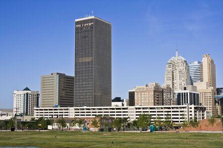 oklahoma city: Panorama of downtown Oklahoma City