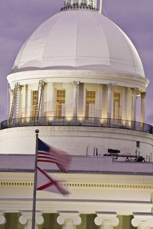 Capitolio del Estado de Alabama en el Condado de Montgomery. Foto de archivo - 4104983