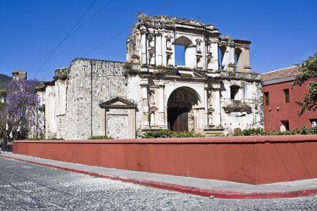 antigua: La Compania de Jesus in Antigua, Guatemala.