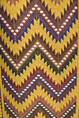 textile image: Colors of Guatemala - market in Chichicastenango