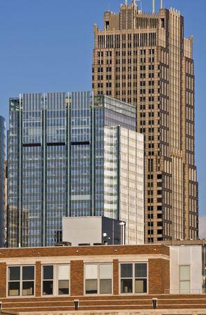 cna: Edificios del centro sur de Chicago, IL.