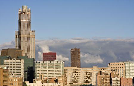 cna: Final de la tarde de Chicago, IL. Foto de archivo