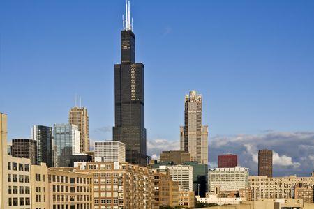 cna: Panorama di South Loop - Chicago, IL. Archivio Fotografico