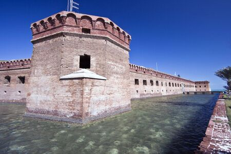 dry tortugas: Fort Jefferson - Dry Tortugas National Park, Florida.